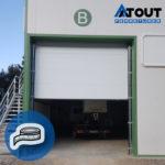 Photo de de porte de garage industrielle - Prendre ses mesures