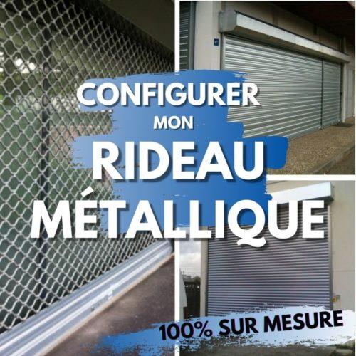 Configurer mon rideau métallique