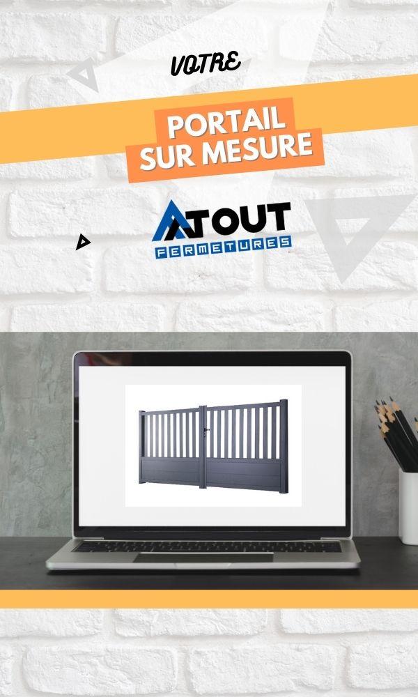 Générateur de devis portail aluminium - Atout fermetures