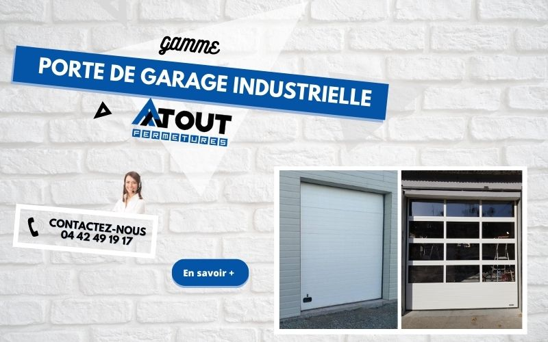 Diaporama mobile gamme industrielle - Atout fermetures